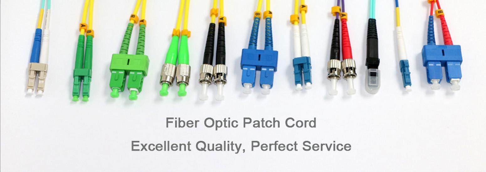China best Fiber Optic Patch Cord op verkoop