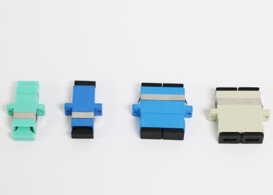 De Vezel Optische Adapter van de Zrconiakoker met ROHS-Verlies van de klachten het Hoge Terugkeer