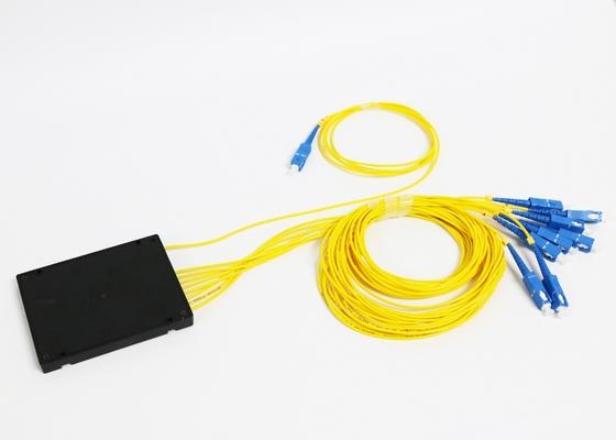 1*8 vezel Optische Plc Splitser met de Vezelschakelaar van Sc ST LC van SM FC