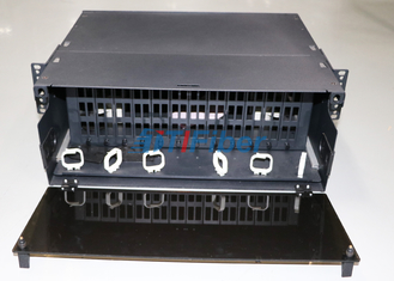 4U het verschuifbare Comité van het Vezel Optische Flard voor de Module van de de Vezelcassette van MTP/MPO-