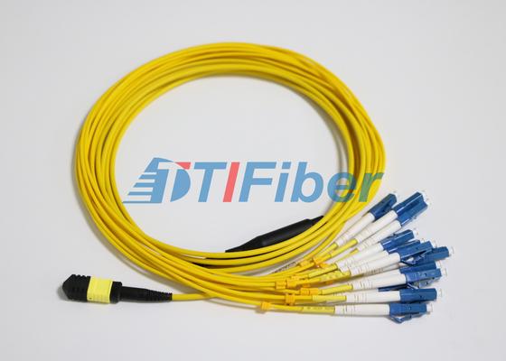 Het de Vezelflard van LC SM MTP/MPO-leidt met UPC Optische Vezelschakelaar