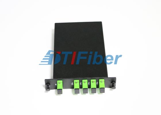 LGX-PLC Doos van de Vezel de Optische Splitser met Sc-APC Simplexvezel Optische Adapters